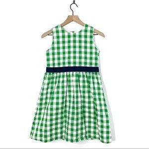 Brooks Brothers Fleece Green Checker Spring Dress
